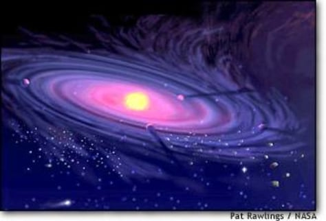 Image: Protoplanetary disk