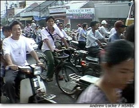 PHOTO: Heavy traffic in Saigon