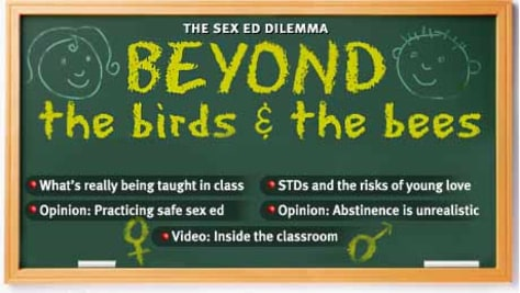 Beyond the birds and the bees -- The Sex ed debate -- What's' really taught in class -- STD's -- Video