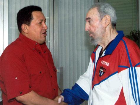 Image: Castro, Chavez