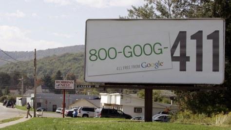 Image: Google billboard