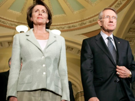 Image: Nancy Pelosi and Harry Reid