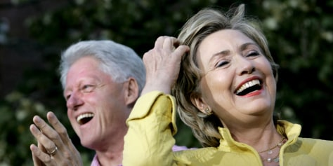 IMAGE: Hillary and Bill Clinton