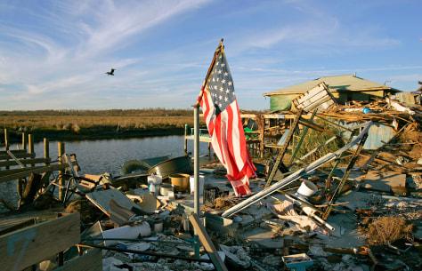 Image: Demolished home