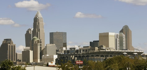 Image: Charlotte skyline