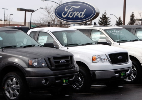 Image: Ford dealer