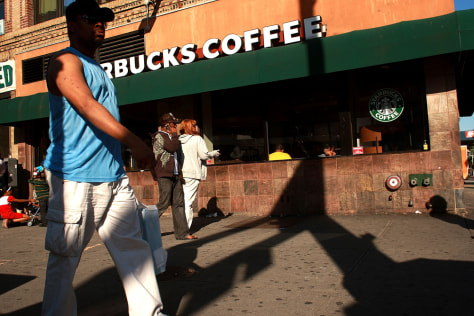 Image: Starbucks in Harlem