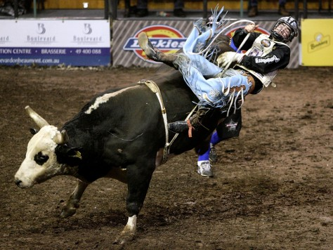 Image: Professional Bull Riders Troy Dunn International