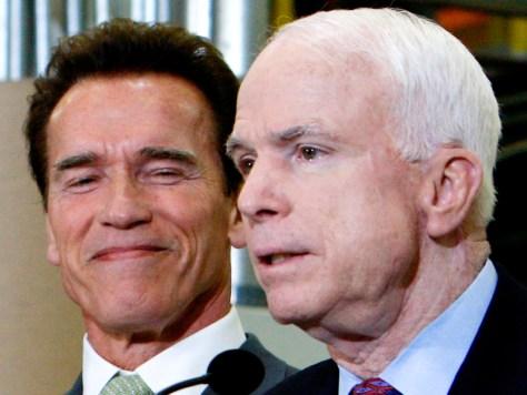 Image: John McCain, Arnold Schwarzenegger