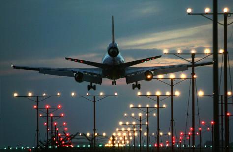 Image: LAX landing