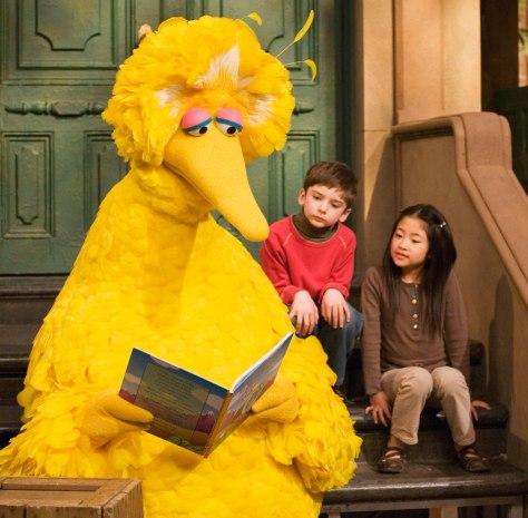 Big Bird's still huge as 'Sesame Street' hits 40 - today