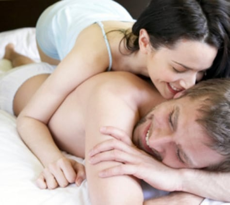 Image: Couple on bed