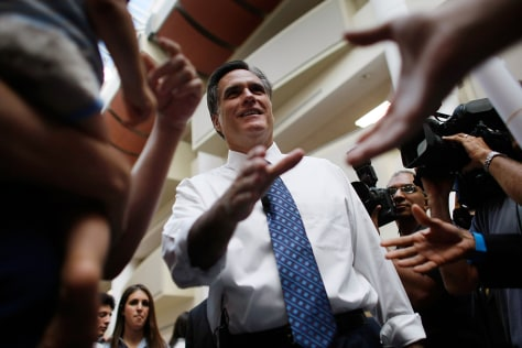 IMAGE: Presidential hopeful Mitt Romney