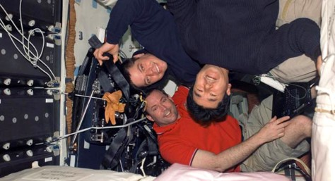 Image: STS-123 mission specialists