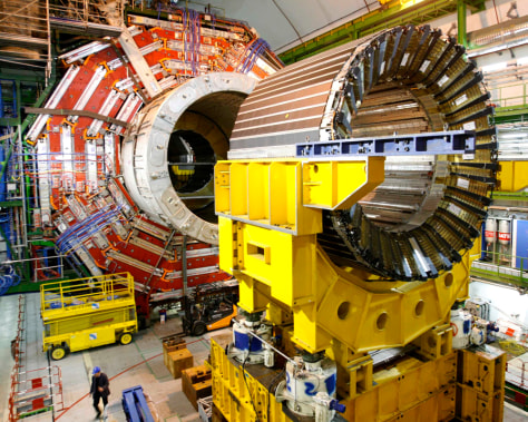 Image: The core magnet at CERN