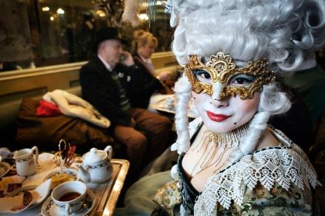 Image: Venice celebrates Carnevale