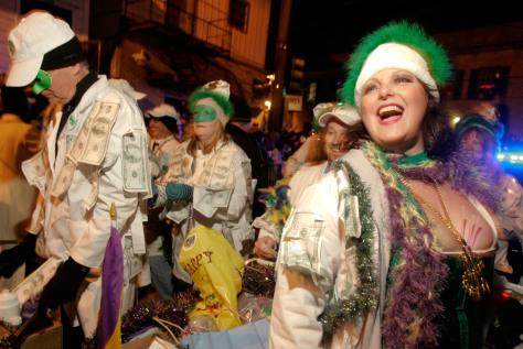 Image: Krewe du Vieux Mardi Gras parade