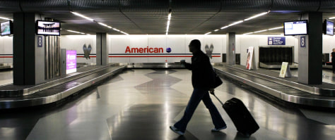 Image: Deserted baggage claim