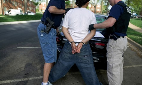 IMAGE: Gang arrest in Md.