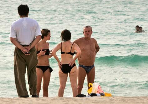Image: Dubai beach