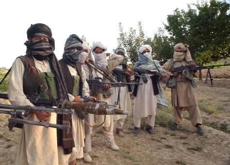 Image: Taliban militants