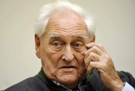 Image: Ex-Nazi officerJosef Scheungraber