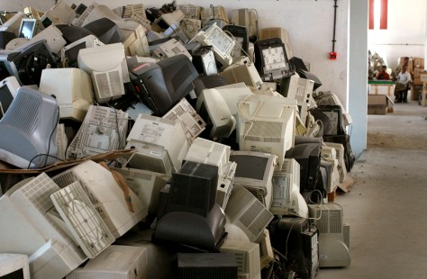 Image: Electronic waste in India