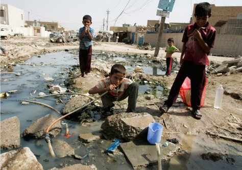 Image: Cholera in Iraq