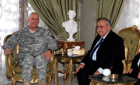 Image: Odierno and Iraqi president