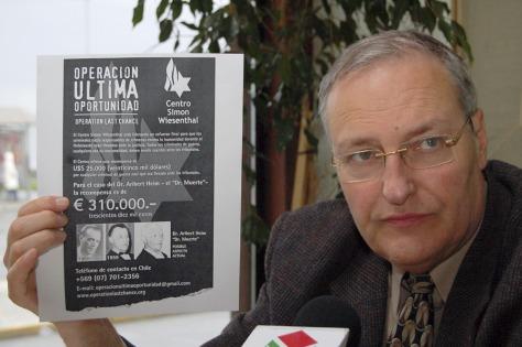 Image: Nazi hunter Efraim Zuroff