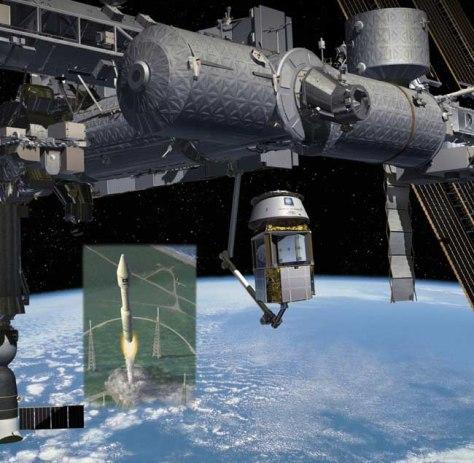 Image: PlanetSpace Modular Cargo Carrier
