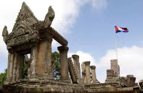 Image: Temple on Cambodia-Thai border
