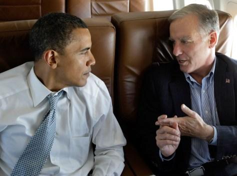 Image: Barack Obama, Howard Dean