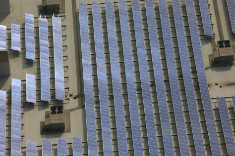 IMAGE: SOLAR PANELS ON ROOF