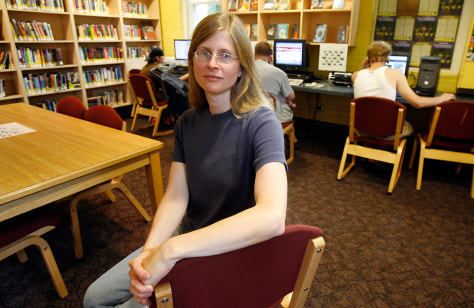 Image: Library Director Amy Grasmick