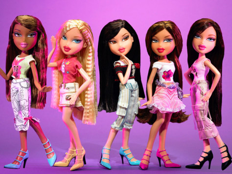 Image: Bratz dolls