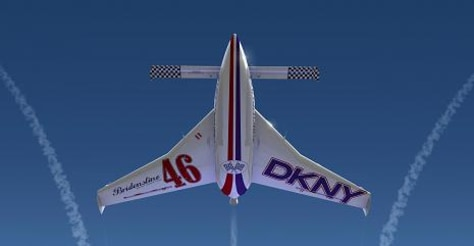 Image: Rocket racing plane