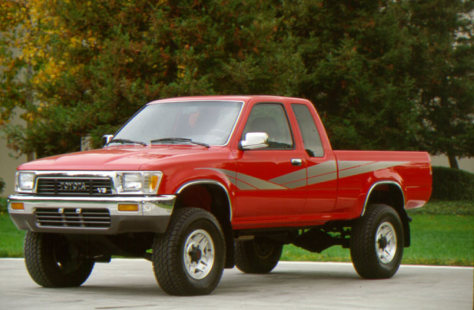 Image: Toyota truck