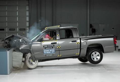 Image: Dodge crash test