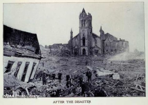 Image: Galveston hurricane