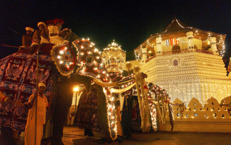 Image: Kandy festival in Sri Lanka