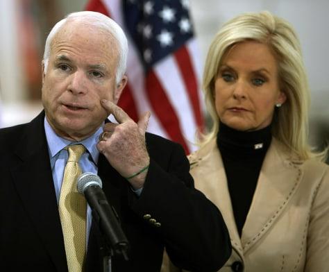Image: Sen.John McCain in Phoenix