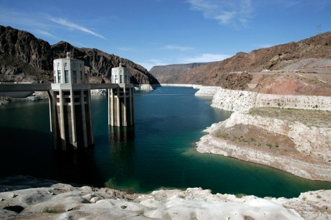 Image: Low water level in Lake Mead