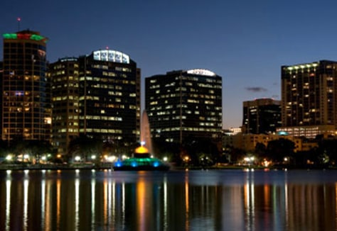 Image: Orlando, Fla., skyline