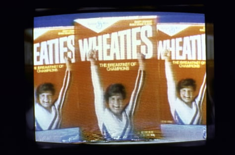 Image: Wheaties box featuring Mary Lou Retton