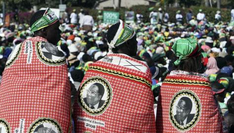 Image: ZANU-PF supporters