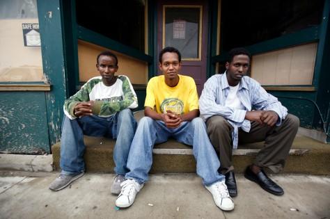 Image: Immigration raid Somalis