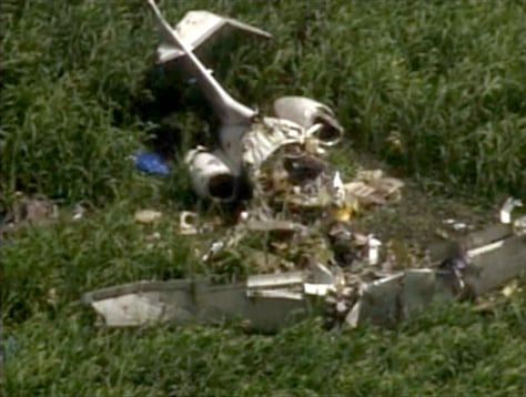 Image: Plane crash