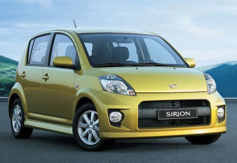 Image: The Daihatsu Sirion and it's 1 liter engine will set you back $12,315 plus the charges to import it — you can buy them in New Zealand.