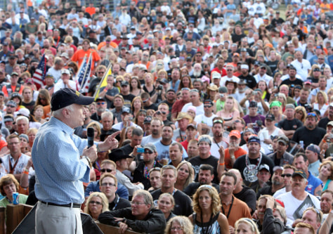 Image: John McCain at Sturgis